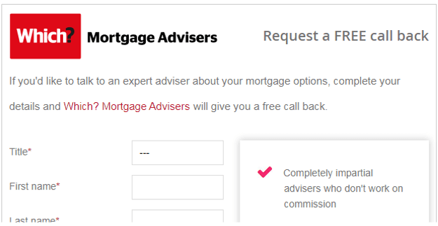 Which Mortgages Example of a great CTA
