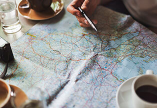 Map - Navigating Businesses to Success