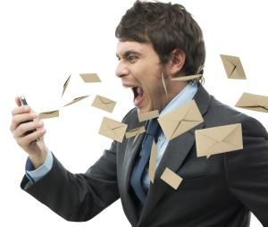 Stress work mail