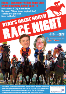 Ryan's Great North Race Night with Rivendell
