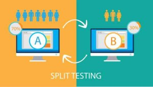 Using Split Testing on Landing Pages for improved Conversions (CRO)
