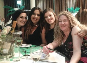 All Things Web team celebrating at the Wiltshire Business Awards 2016