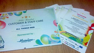 Finalists at Wiltshire Business Awards 2016