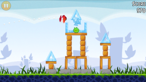 Angry birds free app gameplay